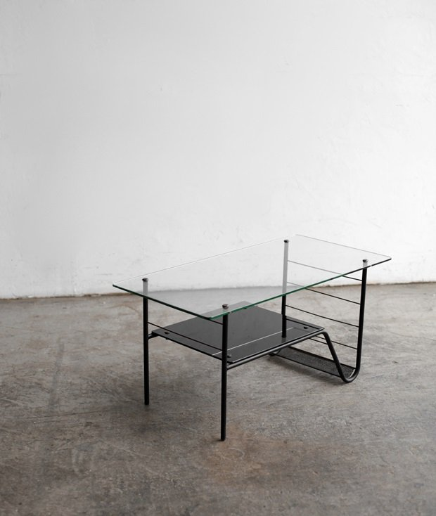 glass top coffee table[LY]