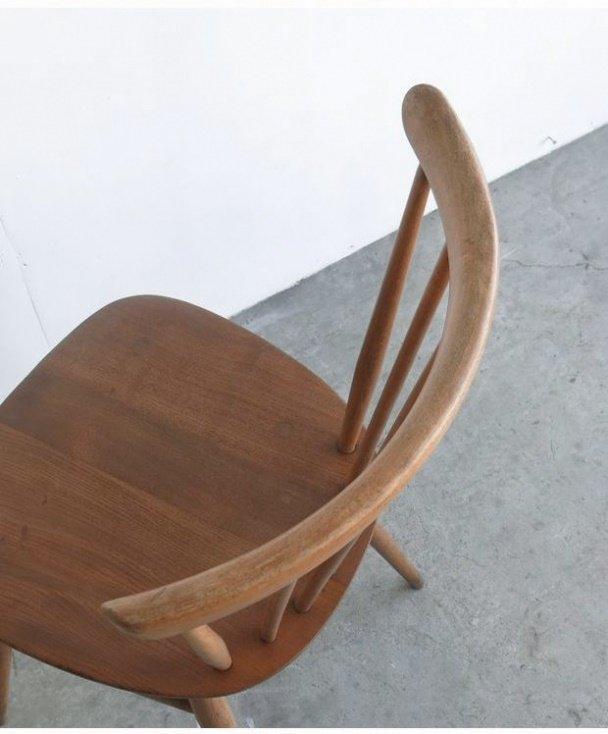 ERCOL fan back chair(7spoke)[LY]