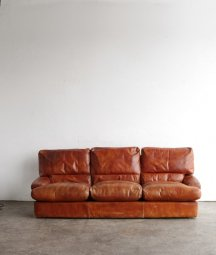 Leather sofa[AY]