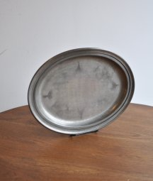 pewter plate [LY]