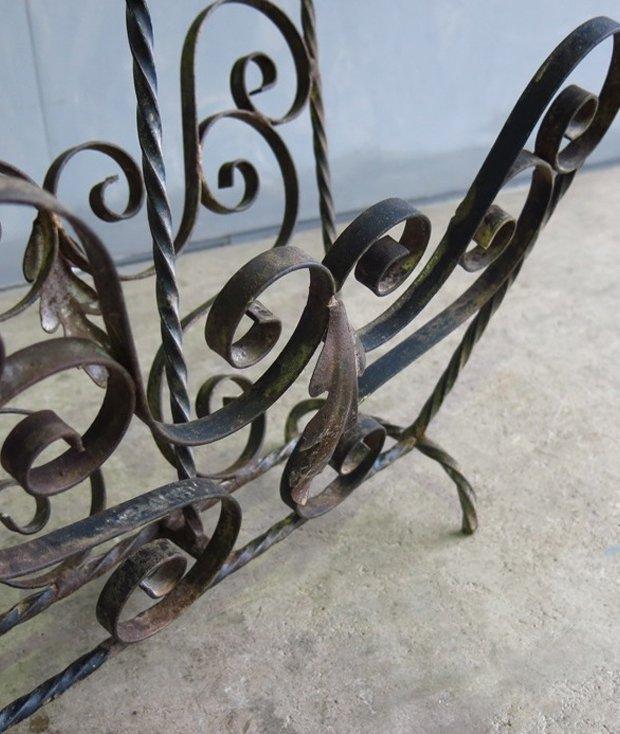 iron rack