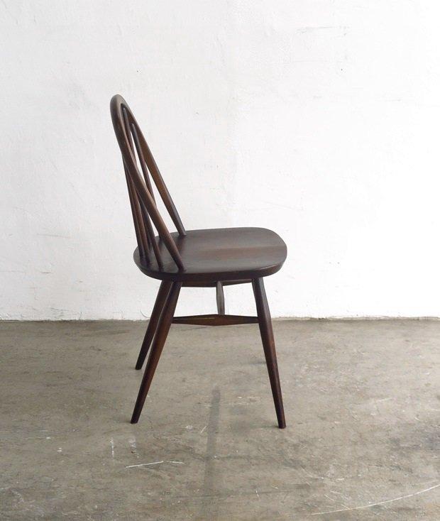 ERCOL 6back chair (dark)[LY]