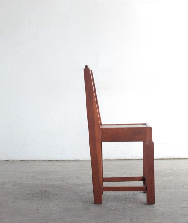 solid oak chair[LY]