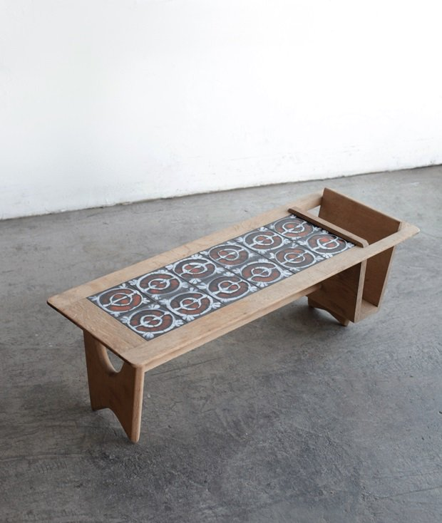 tile top table / Guillerme & Chambron[AY]