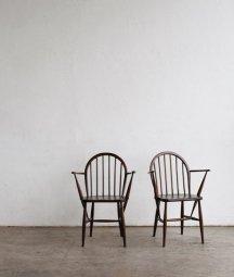 ERCOL ERCOL 6back chair (dark / straight seat)[LY]