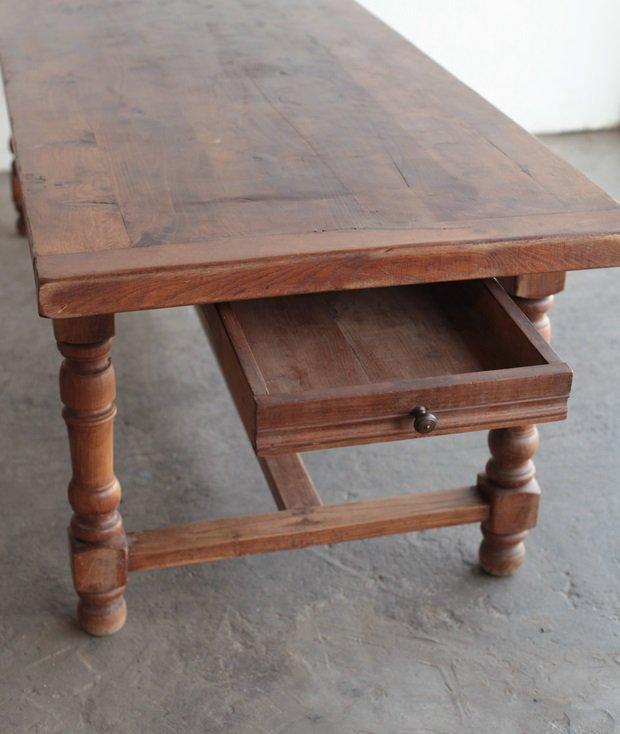 solid oak table[AY]