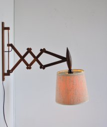 wood scissor lamp[DY]
