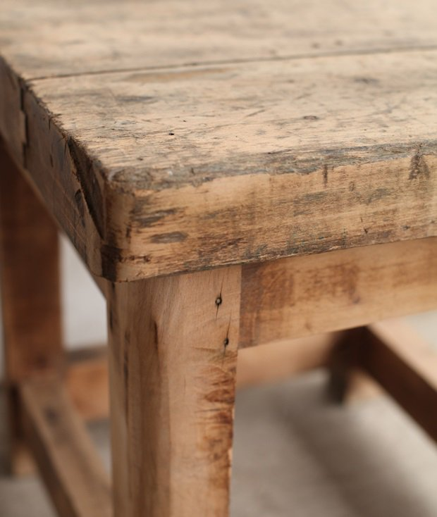 solid beech table[LY]