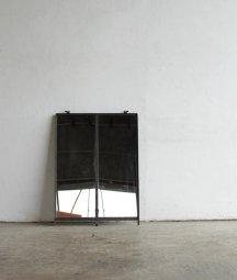 iron frame mirror[AY]