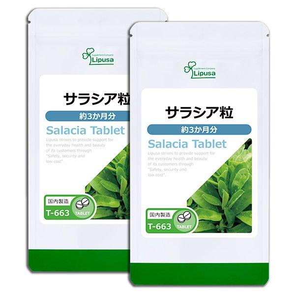 サラシア粒 約3か月分×2袋 T-663-2