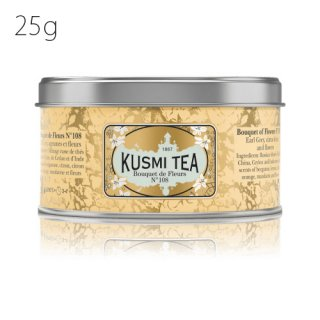 KUSMI TEA ブケドフルール No108 25g缶<img class='new_mark_img2' src='//img.shop-pro.jp/img/new/icons20.gif' style='border:none;display:inline;margin:0px;padding:0px;width:auto;' />