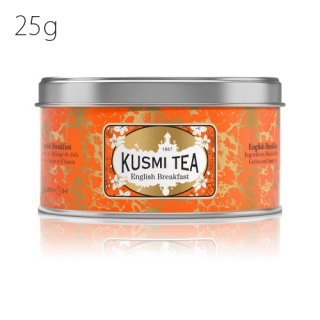 KUSMI TEA イングリッシュ ブレックファースト 25g缶<img class='new_mark_img2' src='https://img.shop-pro.jp/img/new/icons20.gif' style='border:none;display:inline;margin:0px;padding:0px;width:auto;' />
