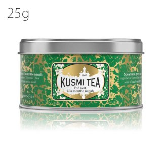 KUSMI TEA ヴェール・スペアミント 25g缶<img class='new_mark_img2' src='//img.shop-pro.jp/img/new/icons20.gif' style='border:none;display:inline;margin:0px;padding:0px;width:auto;' />