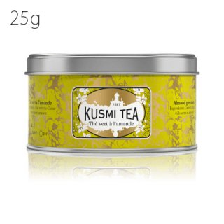 KUSMI TEA ヴェール・アーモンド 25g缶<img class='new_mark_img2' src='//img.shop-pro.jp/img/new/icons20.gif' style='border:none;display:inline;margin:0px;padding:0px;width:auto;' />