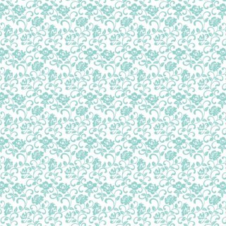 Rose arabesque-raffine blue-