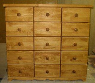 木製チェスト / 収納棚 / カントリー家具 / サイズW800×D350×H1000