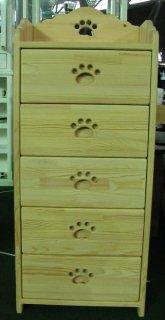 木製チェスト / 収納棚 / カントリー家具 / サイズW440×D290×H1070