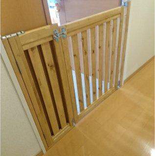 木製ペットフェンス / ゲージ / 柵 / ゲート / サークル / カントリー家具