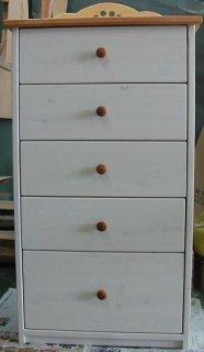 木製チェスト / 収納棚 / カントリー家具 / サイズW590×D320×H1150