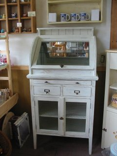 木製医療棚 / 収納棚 / カントリー家具 / サイズW750×D450×H1450