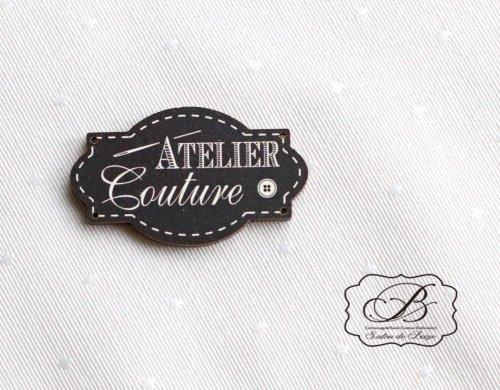 フランス製 ATELIER Couture 木製パーツ