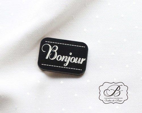 フランス製 Bonjour 木製パーツ
