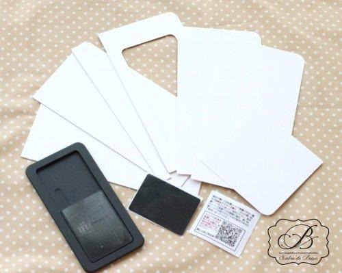 モバイルPhone Case (スライド式) カルトン付きDemi kit