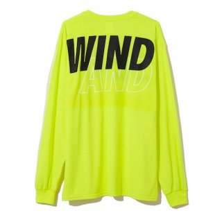 [WIND AND SEA]<br>LONG SLEEVE CUT-SEWN A