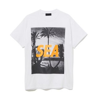 【WIND AND SEA】<br>T-SHIRT PALM TREE PHOTO