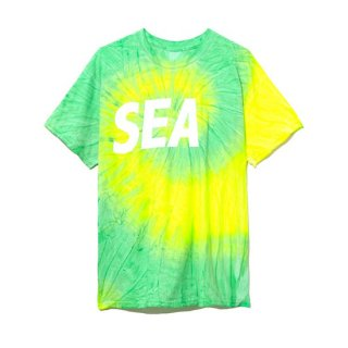 【WIND AND SEA】<br>T-SHIRT TIEDYE