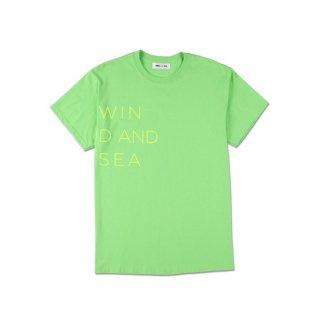 【WIND AND SEA】<br>T-SHIRT CLASSIC LOGO