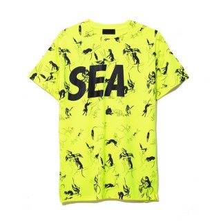 【WIND AND SEA】<br>T-SHIRT PATTERN
