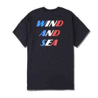 "【WIND AND SEA】<br>SEA (DLM) ""TRICOLR"" TEE"