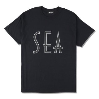 【WIND AND SEA】<br>SEA (wavy) T-SHIRT