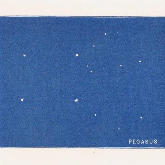 アンティークプリント 天文学・星座(ペガサス座)