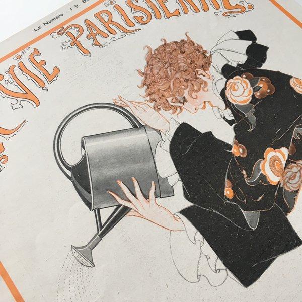 フランスの雑誌表紙 〜LA VIE PARISIENNE〜アドバタイジング03
