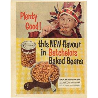 イギリスの古いヴィンテージ広告 Batchelors(ベイクドビーンズ)023