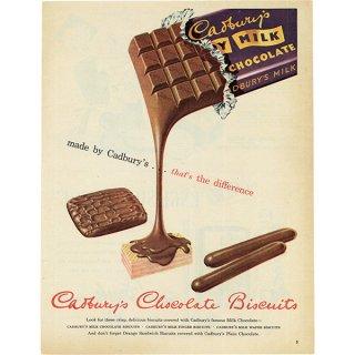 イギリスの古いヴィンテージ広告 キャドバリーCadbury 022