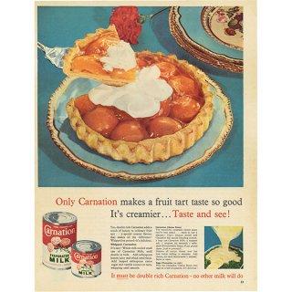 イギリスの古いヴィンテージ広告 Carnation MILK 021