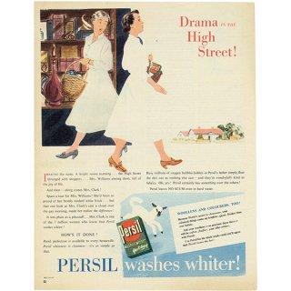 イギリスの古いヴィンテージ広告 PERSIL 020