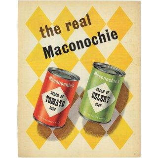 イギリスの古いヴィンテージ広告 Maconochie Soup 017