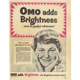 イギリスの古いヴィンテージ広告 OMO 016