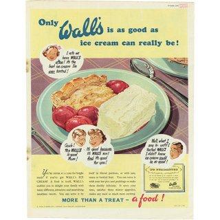 イギリスの古いヴィンテージ広告 Wall's(ウォールズ・アイスクリーム) 014