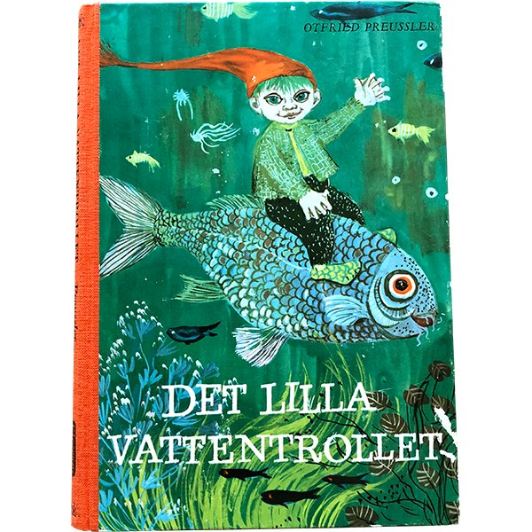 スウェーデンの古い絵本(ヴィンテージ)「DET LILLA VATTENTROLLET」009
