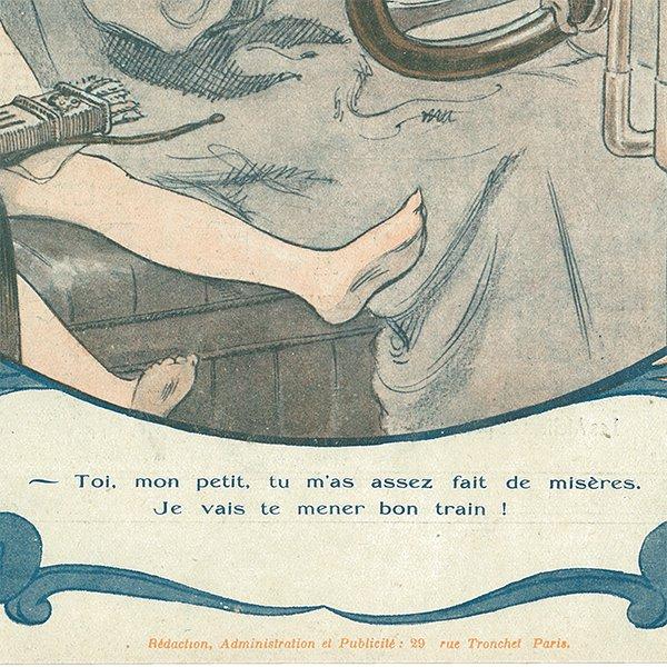 フランスの雑誌表紙 〜LA VIE PARISIENNE〜アドバタイジング012