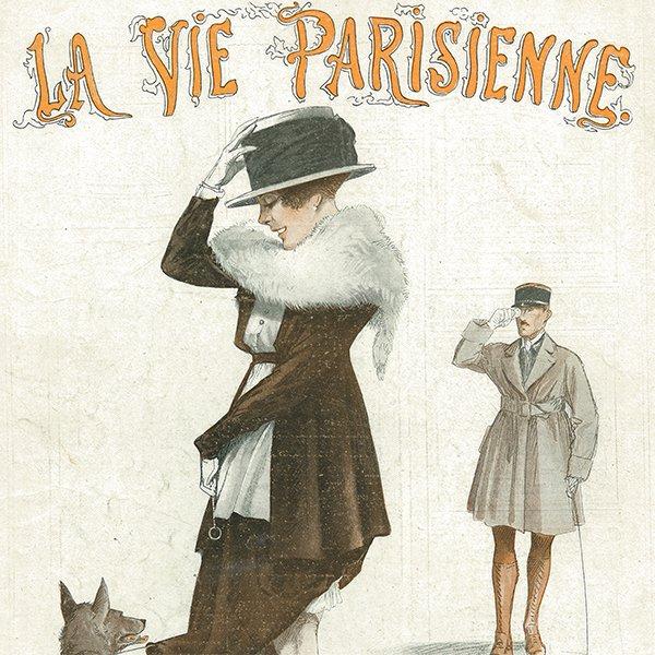 フランスの雑誌表紙 〜LA VIE PARISIENNE〜アドバタイジング013