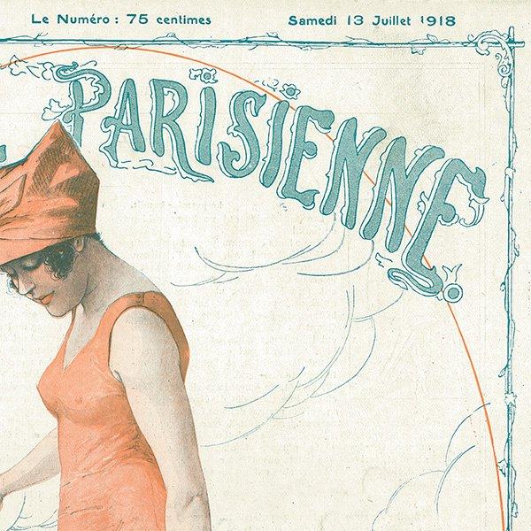 フランスの雑誌表紙 〜LA VIE PARISIENNE〜アドバタイジング015