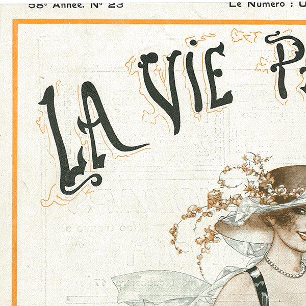 フランスの雑誌表紙 〜LA VIE PARISIENNE〜アドバタイジング017