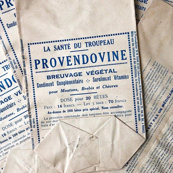 フランス ヴィンテージペーパーバッグ 薬局(1930年代)
