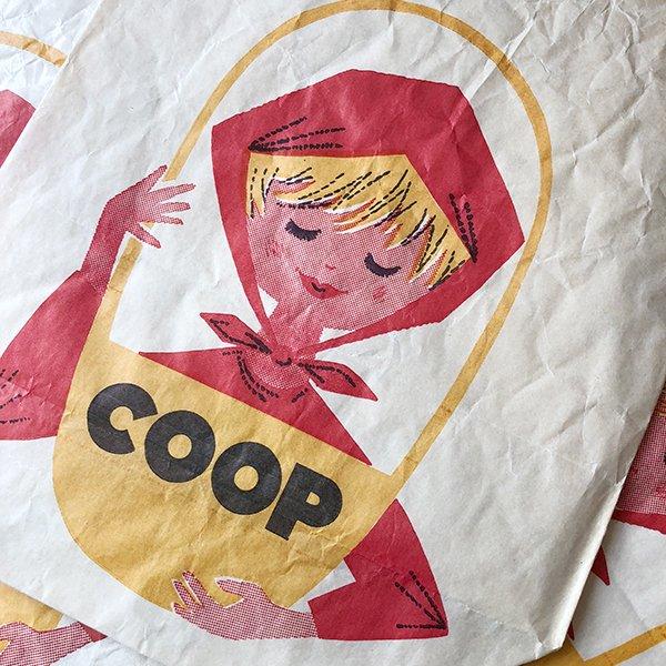 フランス ヴィンテージペーパーバッグ COOP(1960年代)